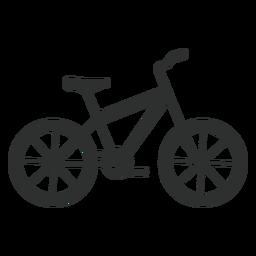 Silhueta de bicicleta Hardtail