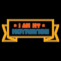 Eu sou minha frase de treino de motivação