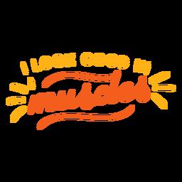 Eu fico bem em citação de músculos