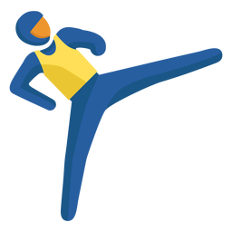Judo paralympics pictogram