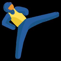 Pictograma de paralímpicos de judo