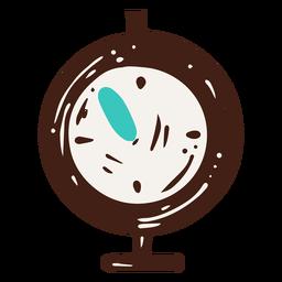 Ilustración de temporizador de laboratorio