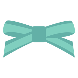 Layer bow flat design