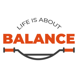 Life is about balance bike lettering