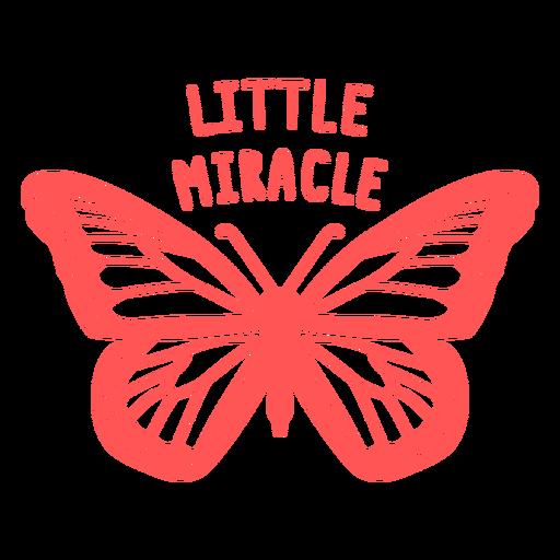 Pequeno milagre de macacão de bebê