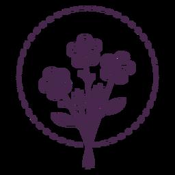 Long stem bouquet stroke