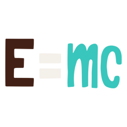 Mass energy equivalence formula