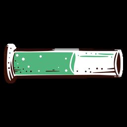 Measuring cylinder hand drawn element