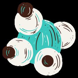 Microscope lenses illustration