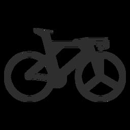 Silueta de bicicleta olímpica