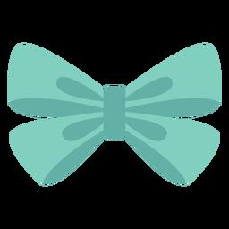 Elemento de organza tipo arco plano