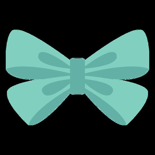 Elemento de organza tipo arco plano Transparent PNG