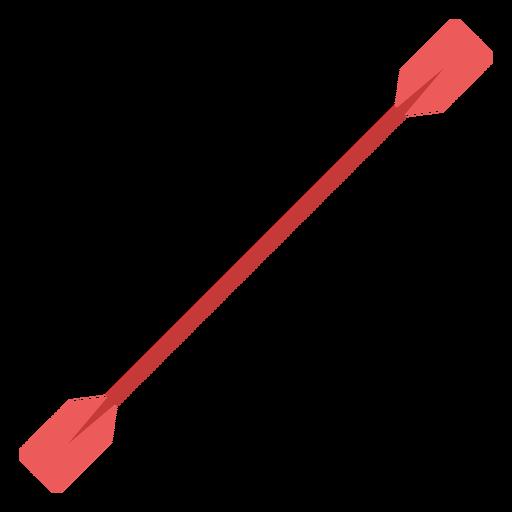 Paddle flat element
