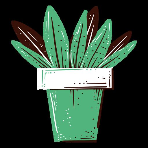 Ilustración de maceta