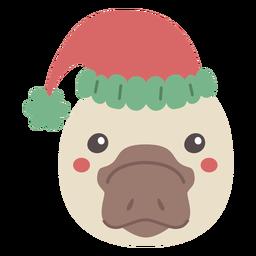 Platypus cute head