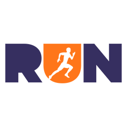 Run lettering workout phrase