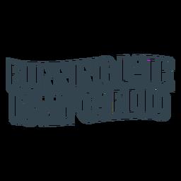 Frase divertida corriendo tarde entrenamiento