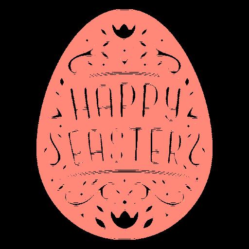 Vinilo insignia de huevo de pascua escandinavo Transparent PNG