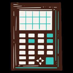 Ilustración de calculadora científica