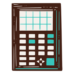 Scientific calculator illustration