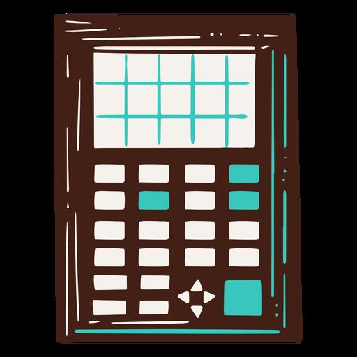 Scientific calculator illustration Transparent PNG