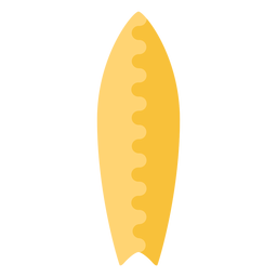 Design de elemento plano de prancha curta