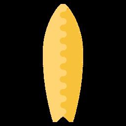 Diseño de elemento plano de tabla de surf corta