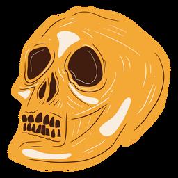 Skull hand drawn skull