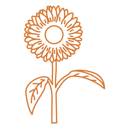 Sun flower baby onesies stroke