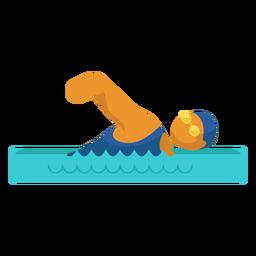 Pictograma de deporte paralímpico de natación