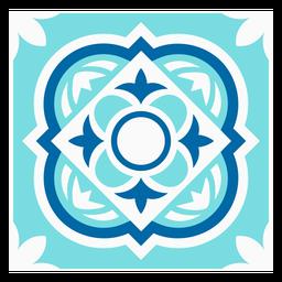 Tile circle rhomb