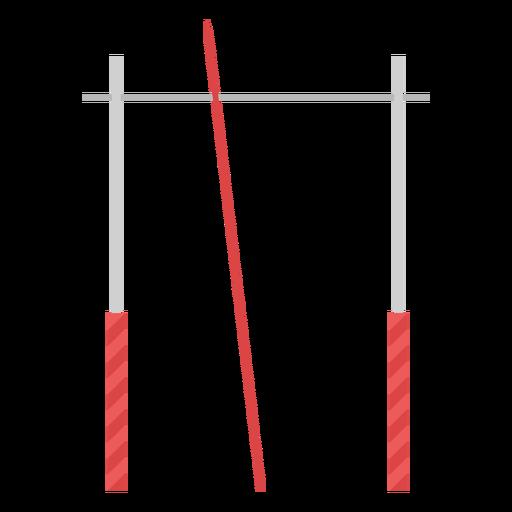 Elemento plano de barra de bóveda Transparent PNG