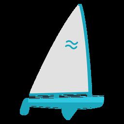 Vessel flat element