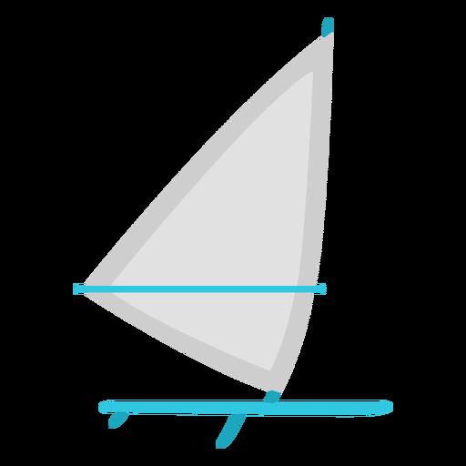 Elemento plano de tabla de windsurf
