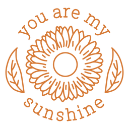 Eres mi diseño de trazo de sol