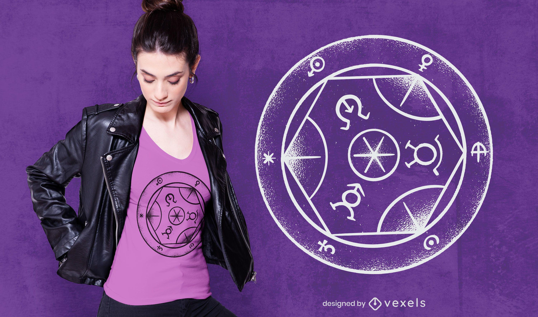 Transmutation Circle T-shirt Design