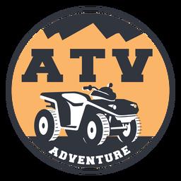 Distintivo de aventura ATV