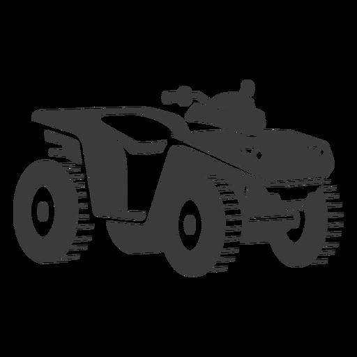 Atv transport black Transparent PNG