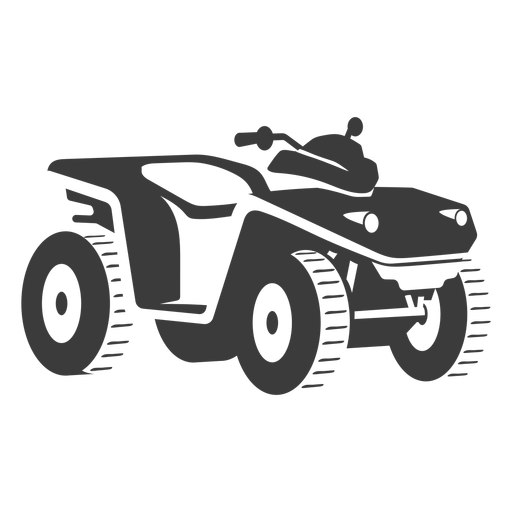 ATV transporte negro