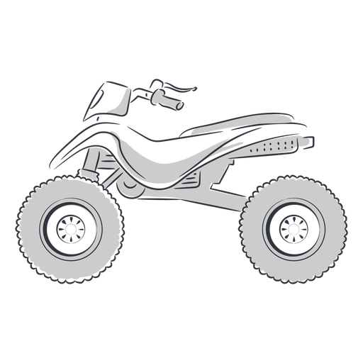 Atv transport hand drawn Transparent PNG