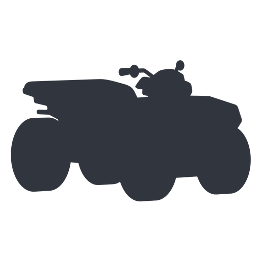Atv transport silhouette Transparent PNG