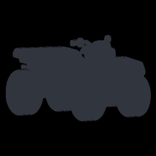 Silueta de transporte ATV