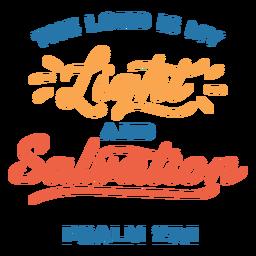 Letras de citação da Bíblia