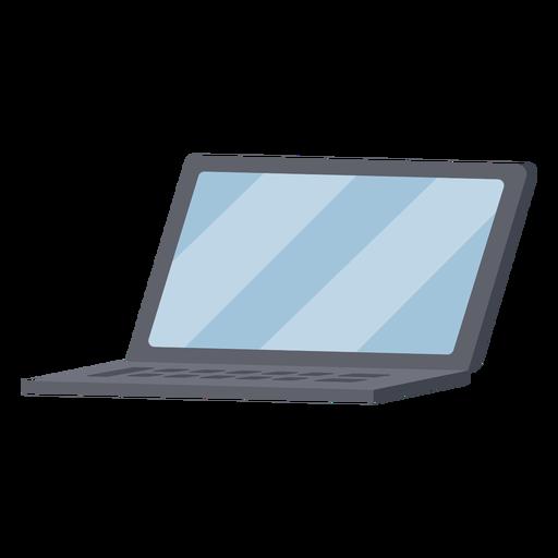 Ilustración de portátil negro