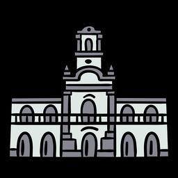 Ayuntamiento de buenos aires dibujado a mano
