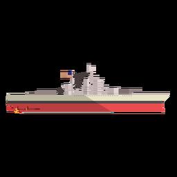 Ilustración del buque de carga