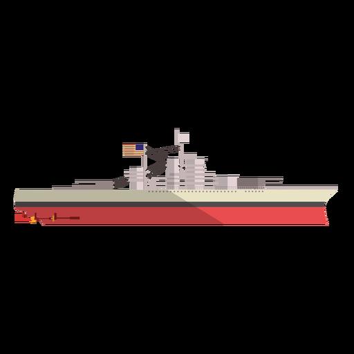 Cargo ship illustration - Transparent PNG & SVG vector file
