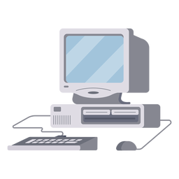 Computer setup illustration