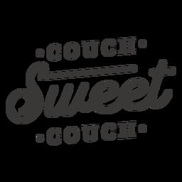 Sofá dulce sofá letras