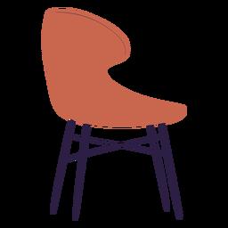 Ilustración de silla curva